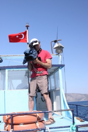 stuart culpepper, Director of Photography, film ons a boat in Turkey