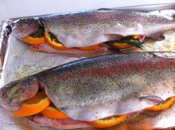 Good Friday meal idea McFarland trout