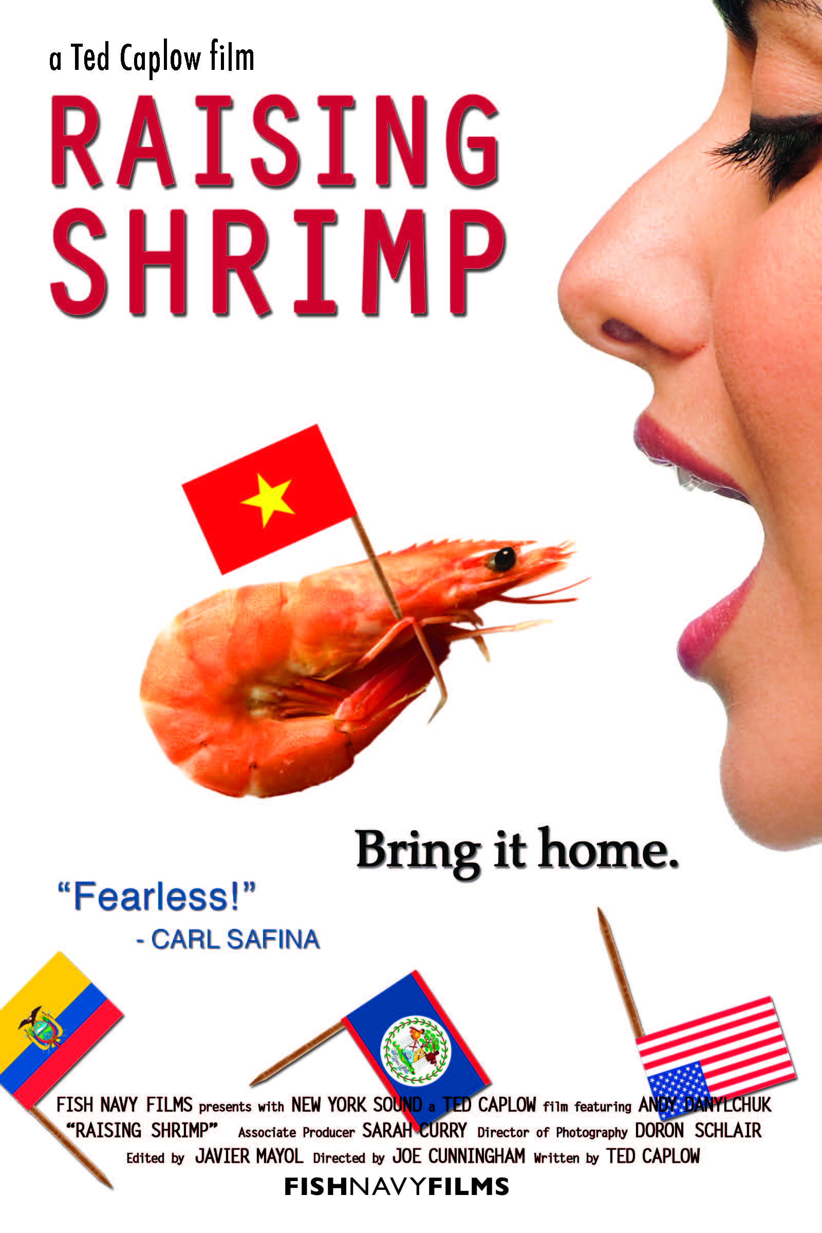 Check Out The New Raising Shrimp Poster